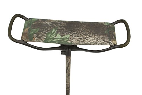 (Shooting Stick Folding Seat Cane with Real Tree Camo - Non Adjustable)