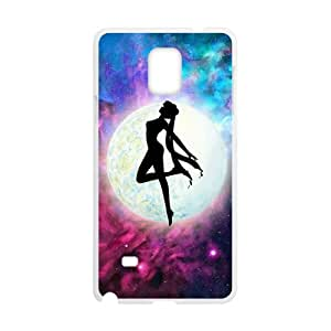 Happy Dancing under moon Bisyozyo Cell Phone Case for Samsung Galaxy Note4