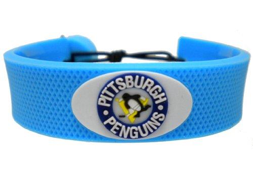 NHL Pittsburgh Penguins Team Color Hockey Bracelet