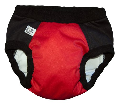 Super Undies Bedwetting Pants Nighttime Underwear , The Webslinger (Red), Size 2 (Large) 4-6 yr old