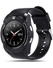 Bluetooth-touchscreen polshorloge voor Android Smartwatch met camera/simkaartsleuf Waterdicht smartwatch