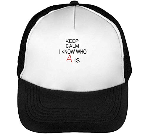 Know Snapback Calm Negro Beisbol I Cool A Hombre Blanco Is Keep Who Gorras zqESzd