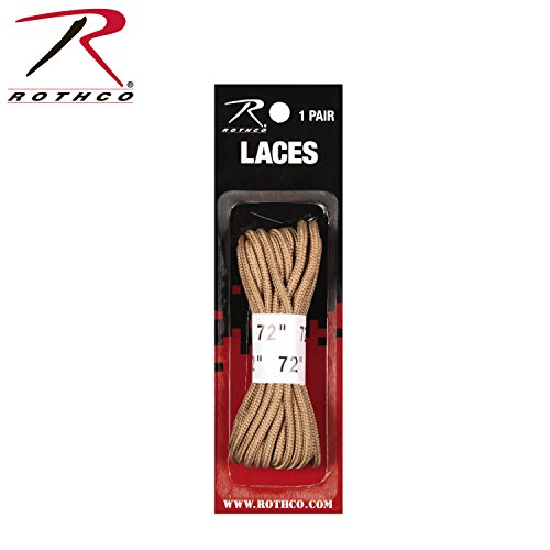 "Rothco Boot Laces, Desert Tan, 72"" from Rothco"