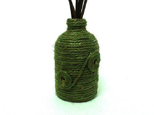 Amazon Rope Wrapped Mini Bud Vase Reed Oil Stick Vase Handmade