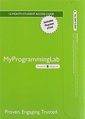 MyLab Programming with Pearson eText -- Access Code Card -- for Absolute Java
