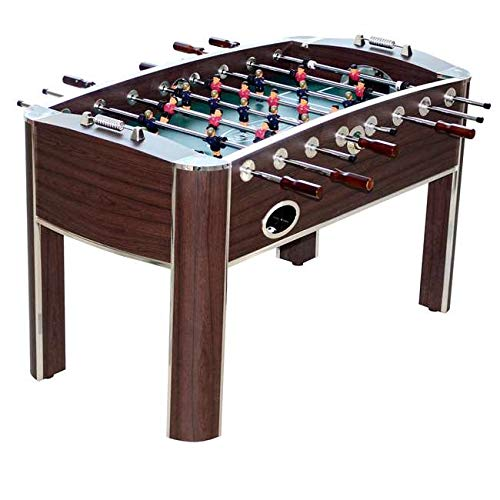 MRT SUPPLY 58-Inch Gameroom Foosball Table with Accessories with Ebook