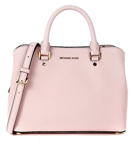 70c9ef1baa3e MICHAEL Michael Kors Savannah Medium Saffiano Leather Satchel (Blossom) -  Buy Online in Oman. | Accessory Products in Oman - See Prices, Reviews and  Free ...