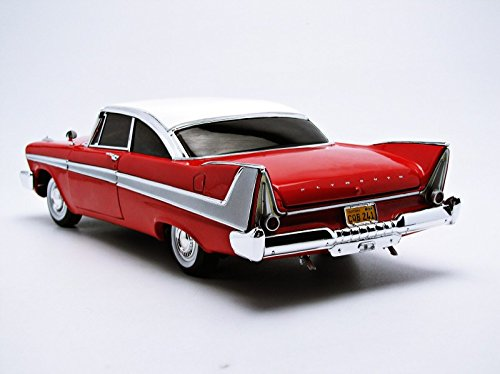 1/18 '58 Plymouth Fury Stephen King Christine Die Cast Movie Car, Multicolored (AWSS102) 2