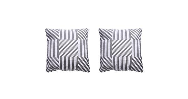 Amazon.com: HF Collection - Juego de 2 fundas de almohada de ...