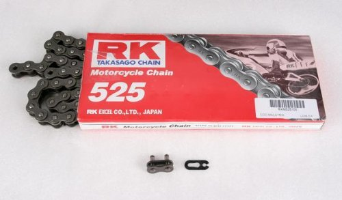 RK Racing Chain 525 M Standard Chain - 120 Links , Chain Type: 525, Chain Length: 120, Chain Application: All