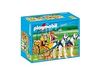 Playmobil 626010 - Granja Ponis Carruaje+Caballos: Amazon.es: Juguetes y juegos