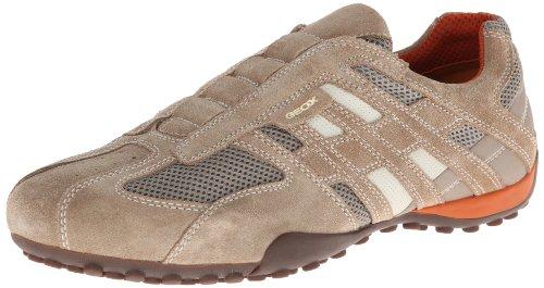 - Geox Men's Snake 96 Fashion Sneaker,Beige/Dark Orange,42 EU/9 M US
