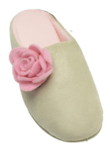 Sizes Slippers Dunlop Pistachio Ladies 3 8 Mule Adriana wBwtqF8I