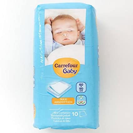 Carrefour bebé colchón (60 x 90 cm 10 Mats: Amazon.es: Bebé