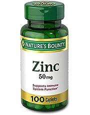 Nature's Bounty Zinc 50 mg Caplets 100 ea