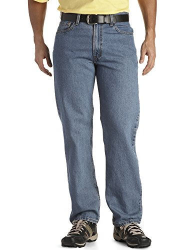 Levi's Men's 550 Relaxed Fit Jean - Big & Tall, Medium Stonewash, 50x29