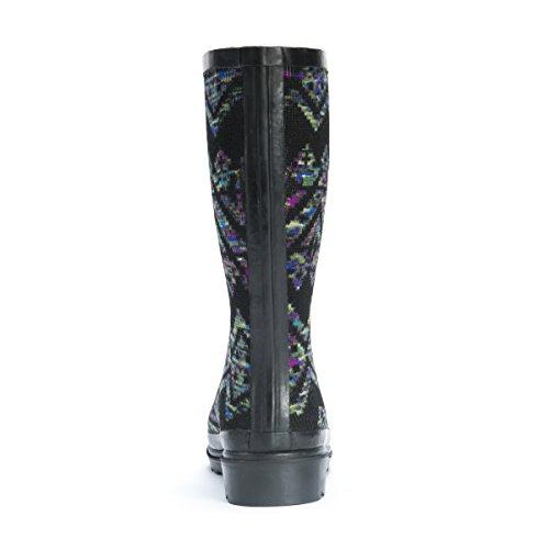 Women's Black Rain Anabelle Rainboots MUK LUKS Shoe 5xUYq4n