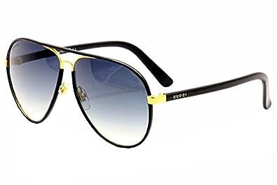 Gucci Sunglasses Leather Frame Aviator : Amazon.com: Gucci Womens 2887/S Aviator Sunglasses,Black ...