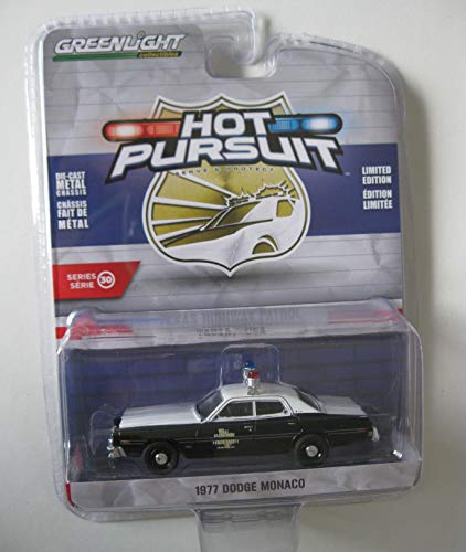 Greenlight 42870-B Hot Pursuit Series 30 1977 Dodge Monaco Texas Highway Patrol 1:64 Scale