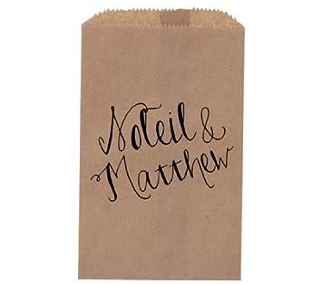 Amazon.com: Rústico boda – Custom Monogram de bolsa de ...