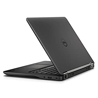 Dell Latitude E7470 Intel Core i5-6300U X2 2.4GHz 8GB 256GB SSD 14 inches, Black (Renewed)