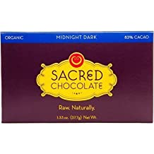 Sacred Chocolate Organic Midnight Dark Chocolate 1.33 Oz (11 Pack)