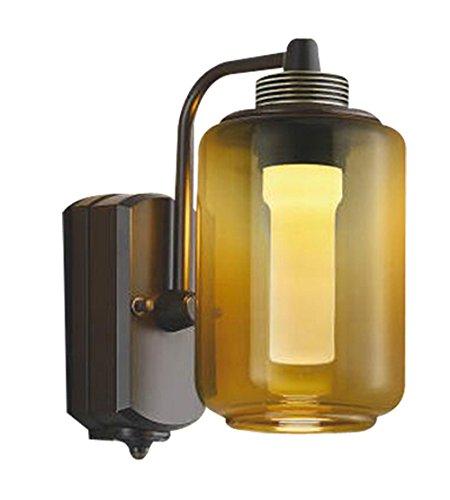 コイズミ照明 人感センサ付ポーチ灯 One´sLamp#2 マルチタイプ スモークアンバー色塗装 AU42200L B00Z51BM24 20071