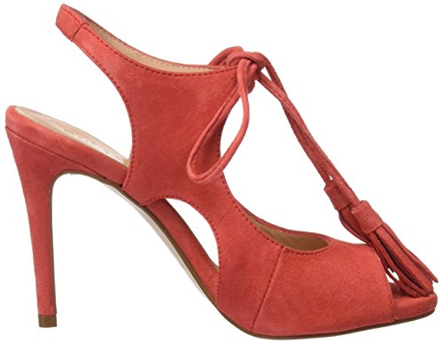 PEDRO MIRALLES Women's 19316 Sandals with Ankle Strap Red (Geranio) cPachA