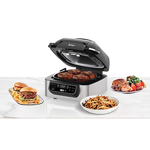 Ninja Foodi 5-in-1 Indoor Grill with 4-Quart Air Fryer