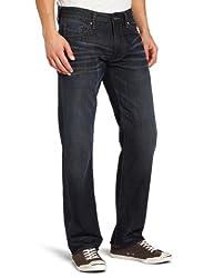 Union Jeans Men's Kentucky Straight Leg Jean in Glacier Rinse, Glacier Rinse, 40