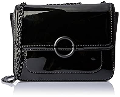 Oroton Women's Ashbury Texture Clutch Wallet, Black, Small
