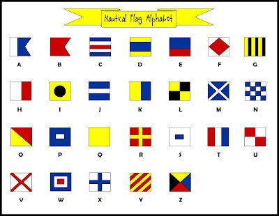 Vintage International Code Flags - Set of 26 Flag - Ship'S 100% Original - Nautical/Maritime/Marine/Boat/Ship/Vessel/Nautical Décor (5031)