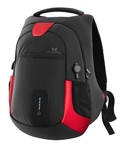 Price comparison product image Ghostek NRGbag Series Computer Laptop Messenger Backpack Book Bag + Battery Power Bank | Water Resistant | 7000mAh | Lightweight | Multipurpose | Fits Laptops Up To 15.6"
