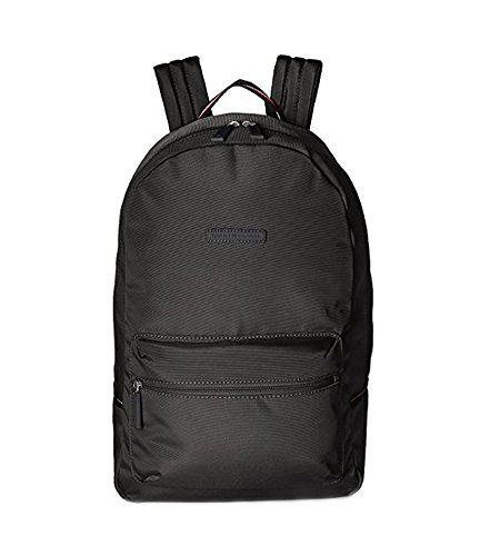 Tommy Hilfiger Solid Black Color School Laptop Sports Books Student Teacher Designer Classic Backpack ...
