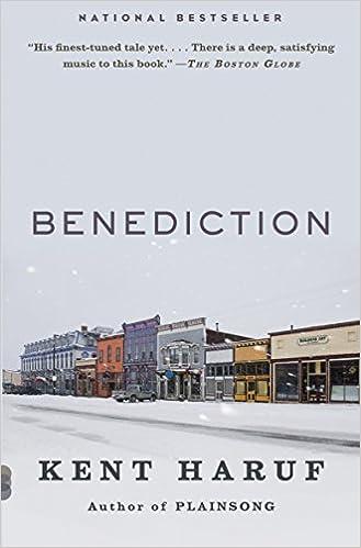 Benediction Vintage Contemporaries Kent Haruf 9780307950420