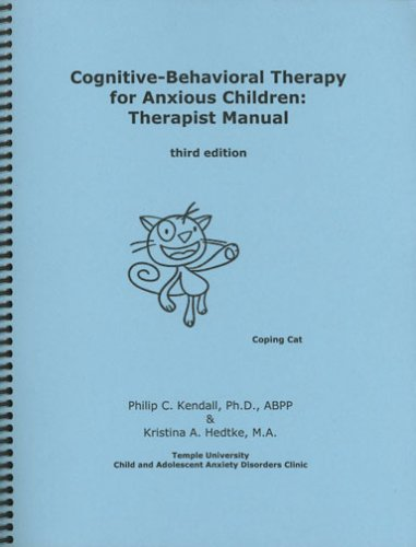 Pdf Medical Books Cognitive-Behavioral Therapy for Anxious Children: Therapist Manual, Third Edition