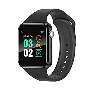 Smart Watch Compatible iOS iPhone Android Samsung, WJPILIS Touchscreen Bluetooth Smartwatch Fitness Tracker with Camera…