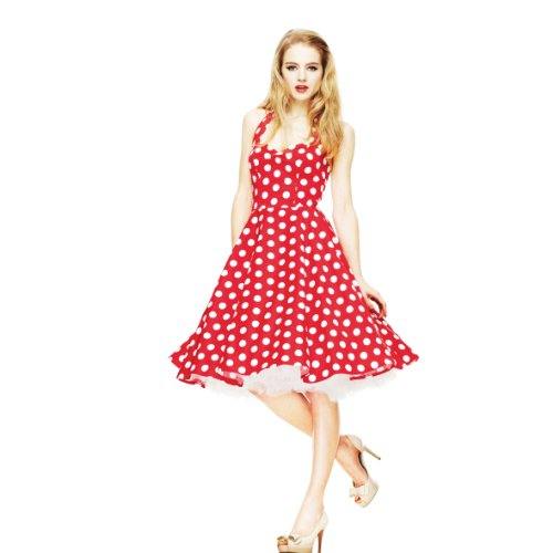 Red MERIAM Kleid red DRESS Bunny Hell wZYq7X