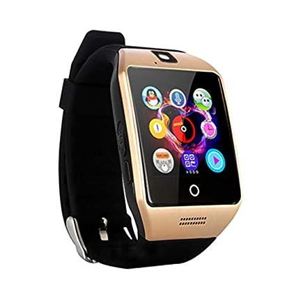 Amazon.com: Zzrp Smart Bluetooth Watch Q18 with Camera ...