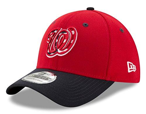 New Era MLB Washington Nationals Team Classic 39Thirty Baseball Hat Cap (S/M)