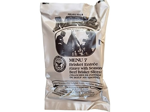 Ultimate 2018 US Military MRE Complete Meal Inspection Date January 2018 or Newer (Brisket Entree) ()