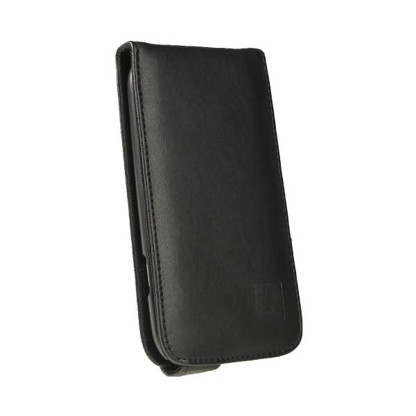 igadgitz Negro Funda de Piel Carcasa Case Cover para Samsung Galaxy S3 III i9300 Android Smartphone + Protector de… 4