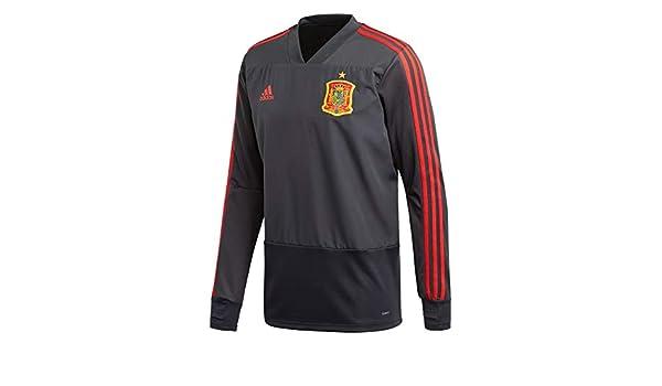adidas Fef TR Top Camiseta de Entrenamiento Federación Española de Fútbol, Hombre: Amazon.es: Deportes y aire libre