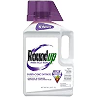 Roundup Weed and Grass Killer Super Concentrate 1/2-Gallon 64 oz.