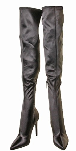KENDALL + KYLIE Women's Anabel Over The Knee Boot, Black, 6.5 Medium US by KENDALL + KYLIE (Image #5)