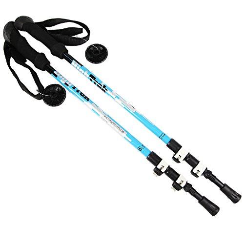 Sportsun-Trekking-Poles-Walking-Hiking-Sticks-for-Travel-Hiking-Climbing-Durable-Adjustable-Anti-shock-Set-of-2-Blue