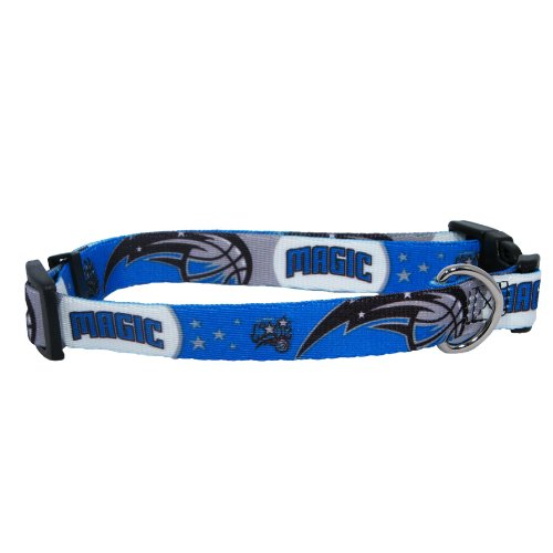 NBA Orlando Magic Adjustable Pet Collar, Team Color, Large