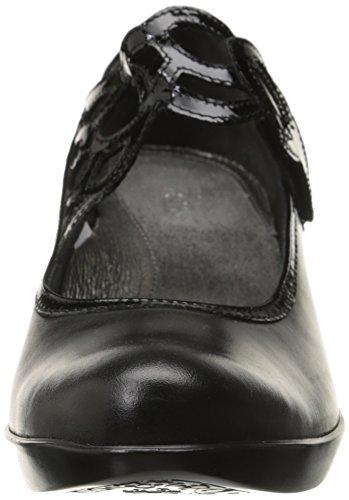 Women's Crinkle Black Luma Black Madras Pump Naot Dress Patent Leather Leather 7H48dOqwqx
