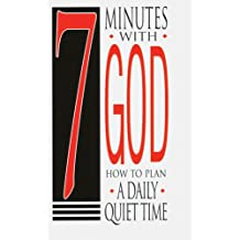 7 Minutes With God: How To Plan A Daily Quiet Time (25 pack)