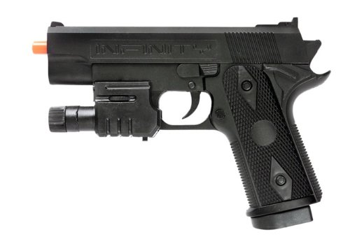 (compact g058a spring airsoft pistol fps-120 w/ aiming sight(Airsoft Gun))